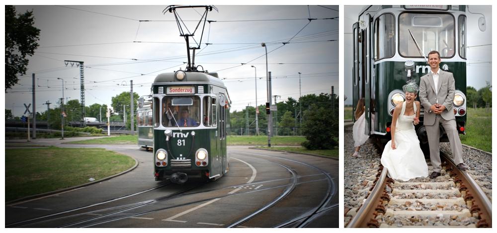 Nostalgische Strassenbahn Mannheim