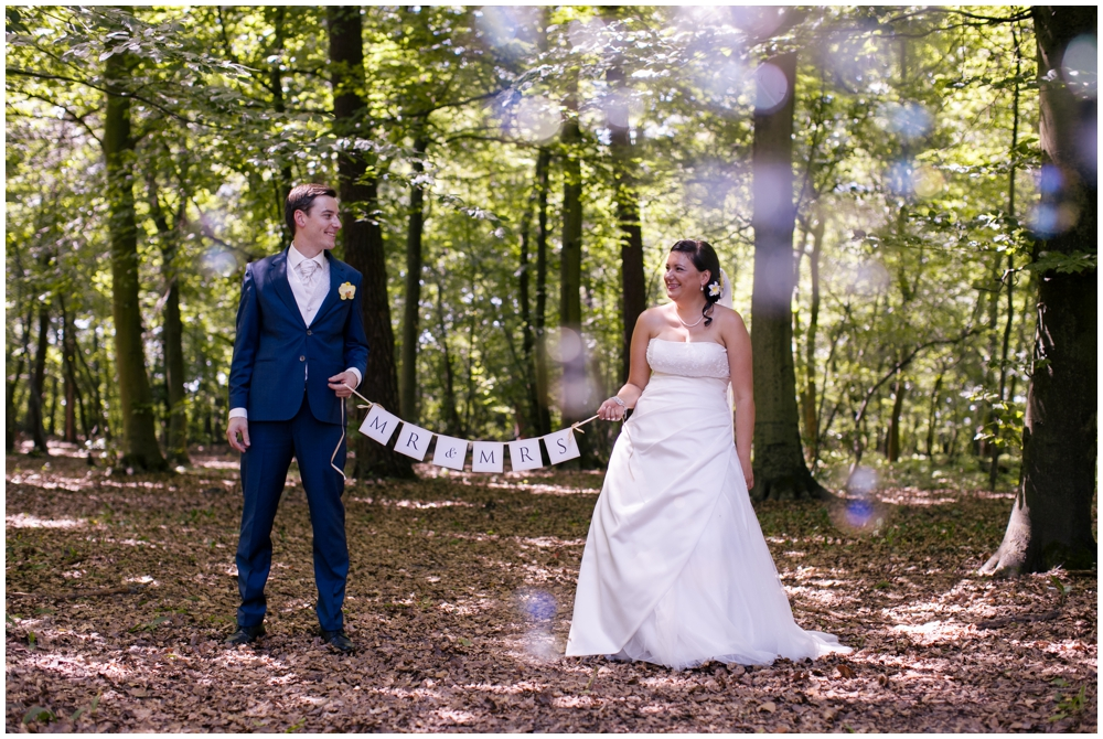 Brautpaar Wald