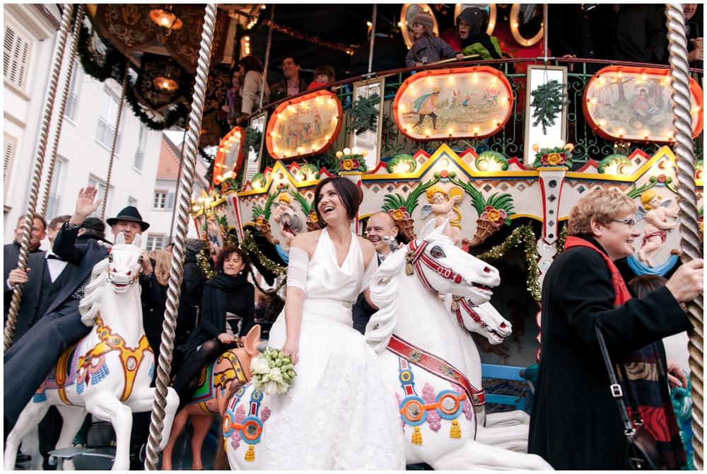 Weihnachtsmarkt karussel Standesamt landau heiraten katrinandsandra
