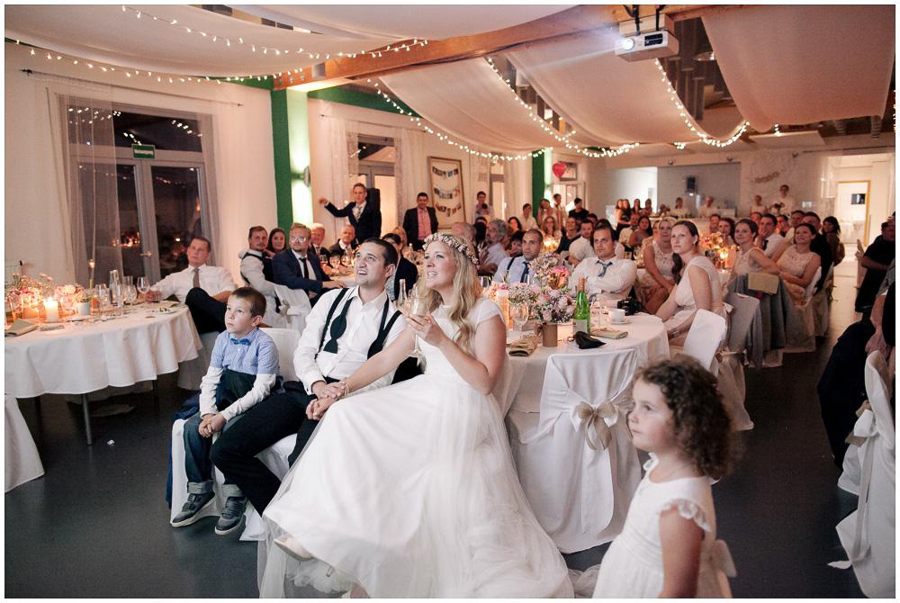 Hochzeitsfeier Vintage