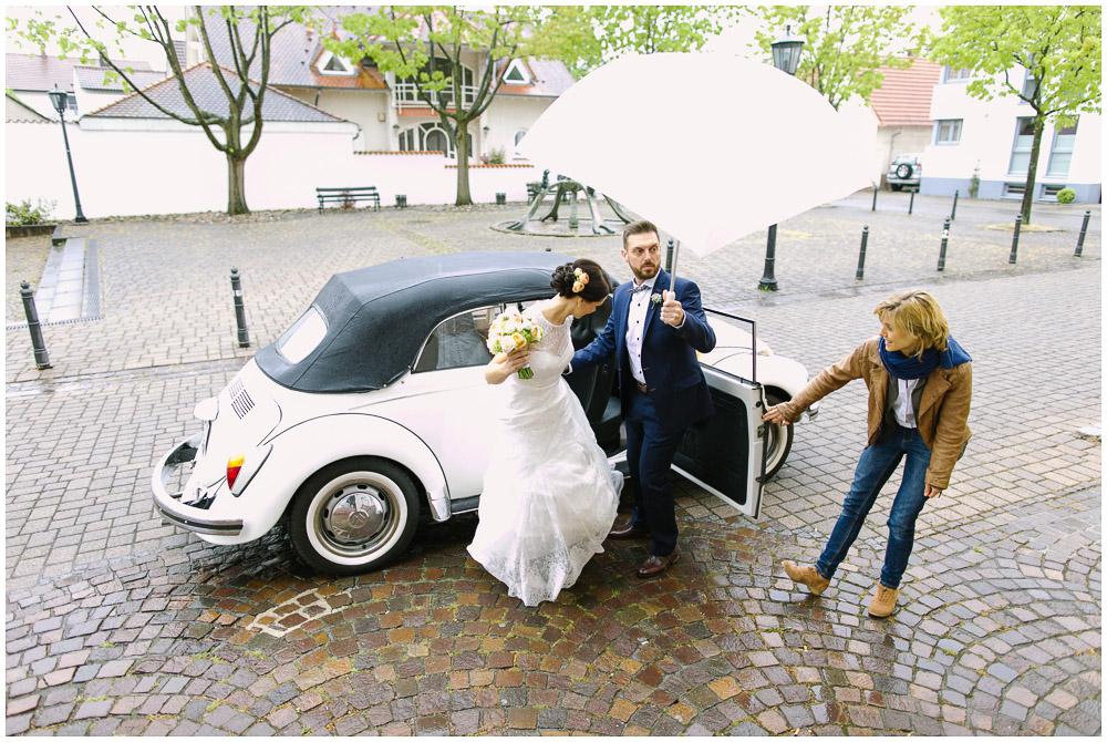 Hochzeitsauto VW Käfer