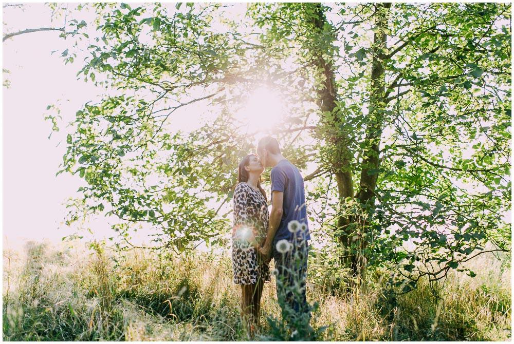 Verlobungsfotos auf dem Michaelsberg