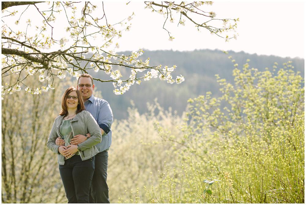 Verlobungsfotos auf dem Dilsberg