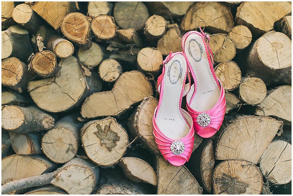Brautschuhe pink