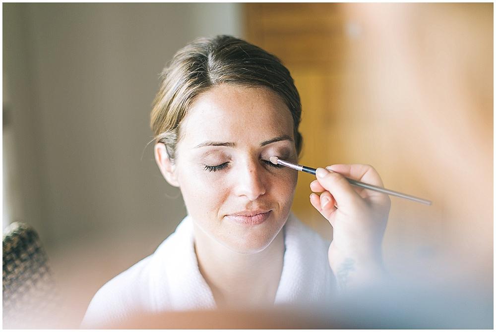 Braut Makeup Hochzeit