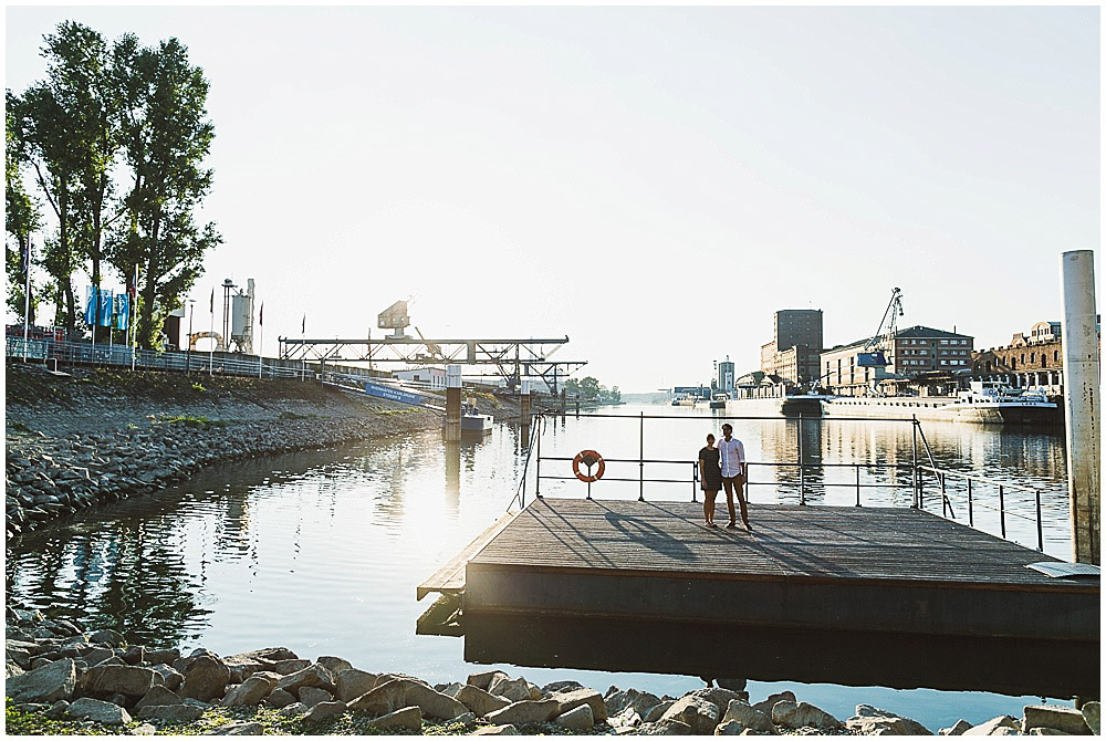 Fotoshooting im Rheinhafen Karlsruhe