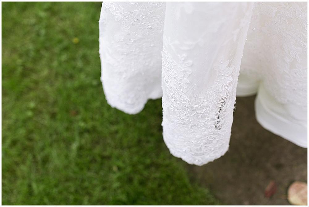 Hochzeitskleid in Szene setzen