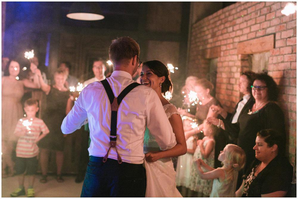 Scheunen Hochzeit Tanz