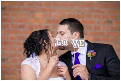 verliebte Hochzeitsfotos