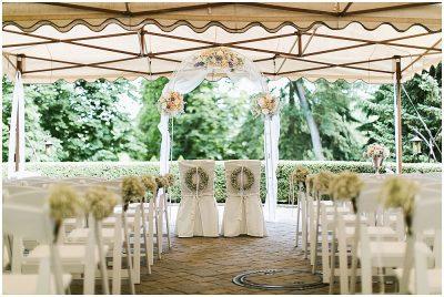 Heiraten in der Villa Hammerschmiede