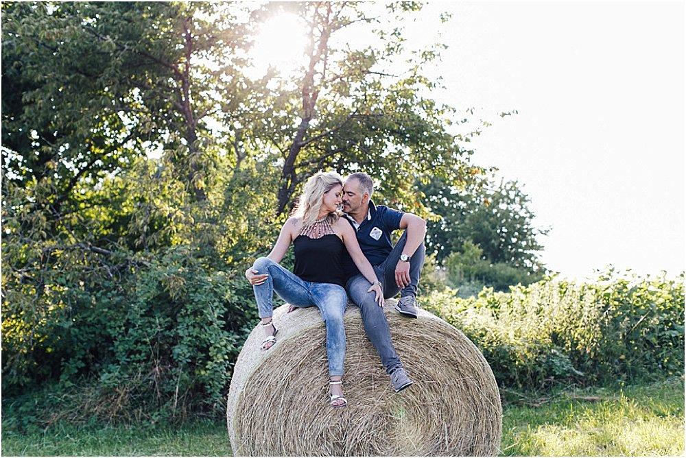 Romantische Sommerfotos