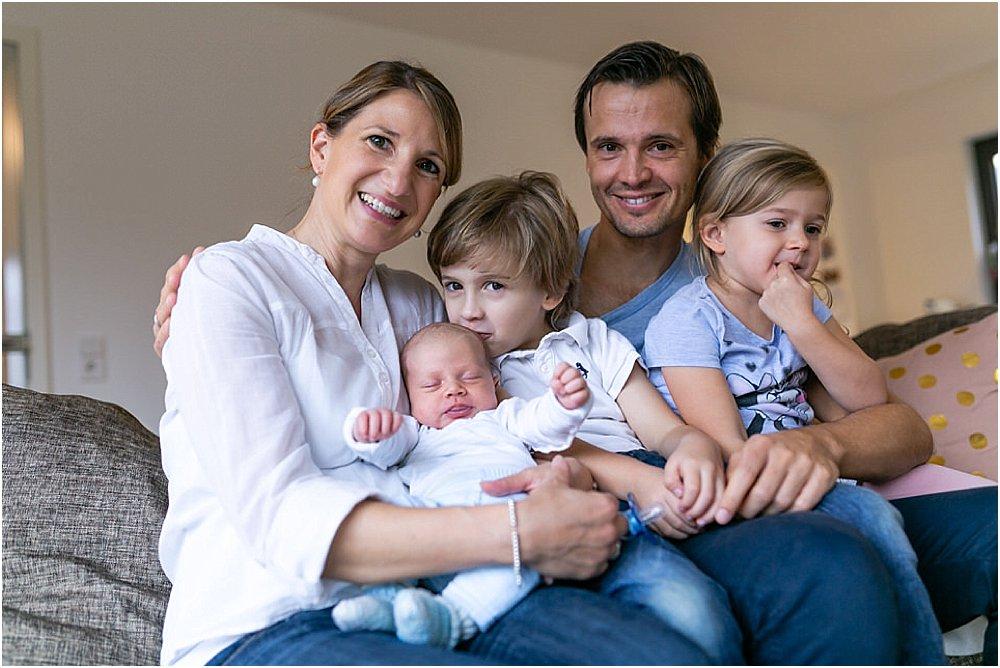 Familienfotos Homestory in Mannheim