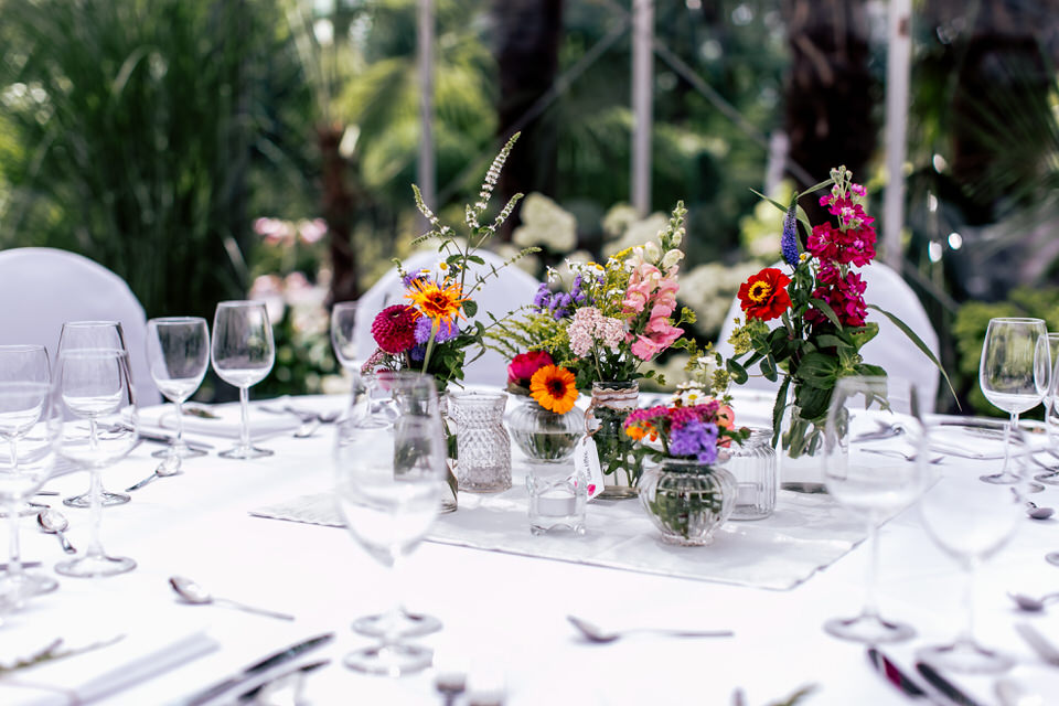 Hochzeit Deko Blumen
